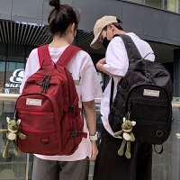 明星同款新款初中生书包大容量女韩版高中学生大学生背包男双肩包