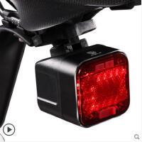 音响山地车装备自行车配件自行车灯尾灯USB充电防水单车