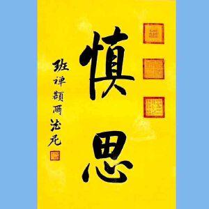 中国佛教协会副会长,中国佛教协会西藏分会第十一届理事会会长十三届全国政协委员班禅额尔德尼确吉杰布(慎思
