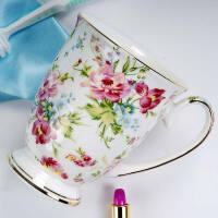 情侣刷牙杯子家用欧式牙刷杯情侣款一对陶瓷漱口杯套装创意洗漱杯 金秋 1个