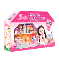 芭比梦想玩具立体屋:芭比梦想玩具立体屋・女孩的缤纷乐园