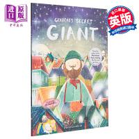 预售【中商原版】爷爷的秘密巨人 英文原版Grandad's Secret Giant爷爷的神秘巨人 大熊和钢琴作者Da