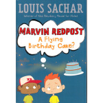 【正版现货】FLYING BIRTHDAY CAKE, A(MARV6) 进口故事书 Louis Sachar(路易斯