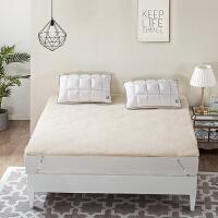 LOVO家纺 精选羊毛床垫冬季保暖床垫