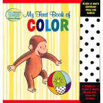 Curious Baby My First Book of Color (Curious George Accordion-Fold Board Book) 好奇宝宝:我的第一本色彩书(卡板书)ISBN9780547472805