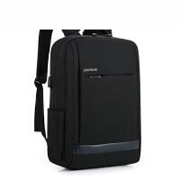 男士商务背包电脑包15.6寸双肩包男笔记本14寸惠普华硕双肩背包女SN6967