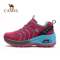 camel骆驼户外徒步鞋 女款耐磨防滑系带徒步鞋