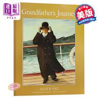 外公的旅程 英文原版 Grandfather's Journey 1994年凯迪克金奖作品