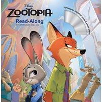 [现货]英文原版 疯狂动物城 Zootopia Read-Along Storybook CD 迪士尼故事书 绘本故事 CD朗读 有声读物