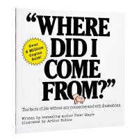 【中商原版】我从哪里来?原版Where Did I Come From?性教育启蒙 认识你的身体