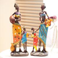 创意非洲摆件家居摆件客厅摆件工艺品房间装饰品摆件复古软装饰品