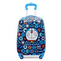 儿童拉杆箱卡通万向轮16寸18寸19寸旅行箱行李箱大容量 桔