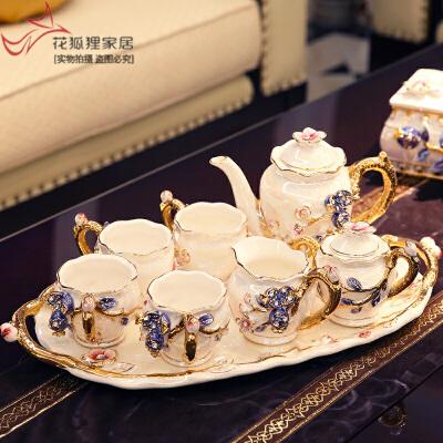 欧式茶具套装客厅装饰摆件陶瓷家居工艺品创意礼品送闺蜜结婚礼物