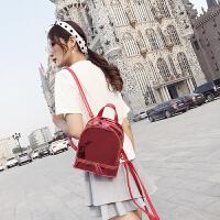 双肩包小包包女2018夏季款韩版潮学生包女书包时尚百搭旅行背包