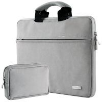 苹果电脑包MacBook12air11pro13.3内胆包皮15寸笔记本11.6薄13mac保护套1 +电源包