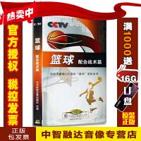 央视体育教学片 篮球配合战术篇 4DVD视频音像光盘影碟片