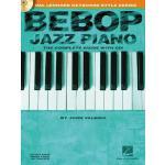 【预订】Bebop Jazz Piano: The Complete Guide [With CD]