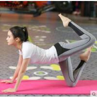 新款�@瘦瑜伽服�\�犹籽b女健身服露背跑步跳操衣服