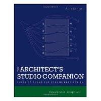 【预订】The Architect's Studio Companion: The Next Level of Wor