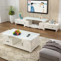 20190403045154422欧式电视柜茶几组合小户型客厅钢化玻璃伸缩地柜现代简约电视机柜 组装