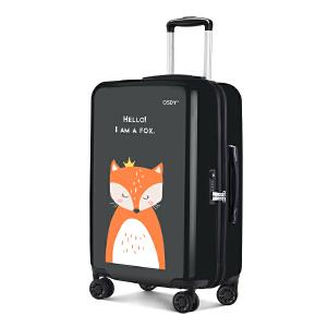 【店铺上新】osdy萌系印花拉杆箱24寸行李箱亲子情侣款旅行箱O-Y5