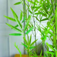 仿真塑料竹子装饰隔断四季假屏风盆栽造景围栏
