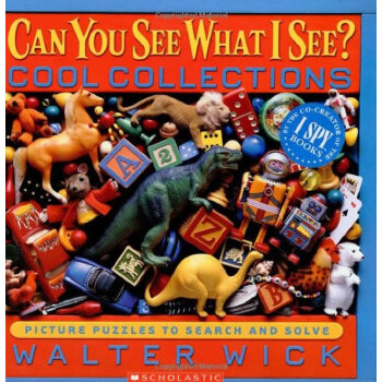Can You See What I See?: Cool Collections: Picture Puzzles to Search and Solve 眼力大考验系列: 酷收藏 ISBN9780439617727