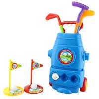 儿童高尔夫球杆玩具套装 亲子运动户外玩具幼儿园球类玩具