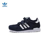 【3折价:149.7元】阿迪达斯(adidas)童鞋秋季新款男女童休闲运动鞋轻便跑鞋BB2448黑色