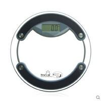 贝雅BY833精准家用电子称体重秤体重计健康秤玻璃圆形智能人体秤