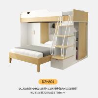 多功能高低床子母床儿童铺床双层床衣柜母子床高架床 其他更多形式