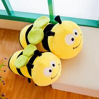 蜜蜂毛毛虫毛绒玩具公仔睡觉长抱枕软体布娃娃玩偶儿童女生日礼物