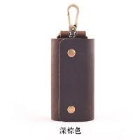 [子艺]手工皮具原创复古文艺男士腰挂钥匙包