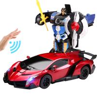 遥控车感应变形机器人金刚模型充电无线儿童遥控汽车男孩玩具车