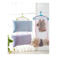 枕头晾晒网 创意家居靠垫晾晒袋 洗衣晾晒收纳网袋