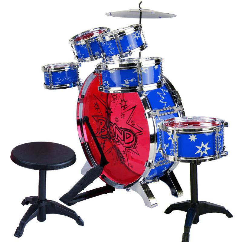 爵士鼓大号架子鼓套装玩具儿童拍拍鼓音乐宝宝敲打乐器男孩3-6岁
