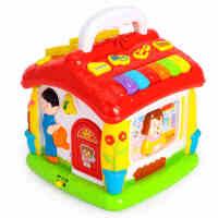 启蒙妙妙屋 多功能婴儿益智1-3岁宝宝玩具早教音乐玩具2