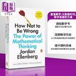 【中商原版】魔鬼数学:大数据时代,数学思维的力量 英文原版 How Not to Be Wrong: The Powe