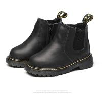 2017鞋秋新款女童靴子雪地靴真皮英伦风短靴马丁靴韩版百搭