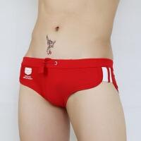 新款男士三角泳裤 男泳裤泳衣 时尚性感低腰速干泳裤