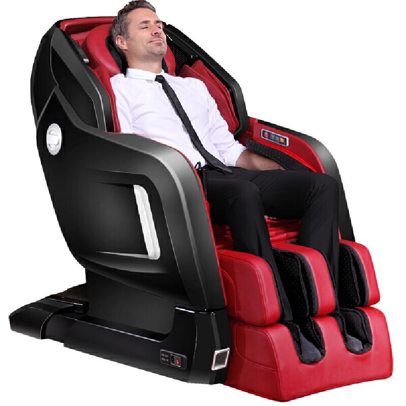 KASRROW/凯仕乐 零重力太空舱按摩椅李维嘉代言版 KSR-S89 黑红 家用按摩椅 全身 按摩椅太空舱 限量100台 凯仕乐博物馆限量珍藏纪念版