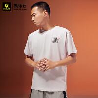 凯乐石 户外运动 中性款太空旅行棉T恤 KG207505