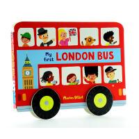 英文原版Whizzy Wheels: My First London Bus 伦敦公共汽车
