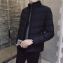 冬季新款外套男士棉衣韩版修身短款保暖棉服立领潮流男装棉袄DJ-DS208
