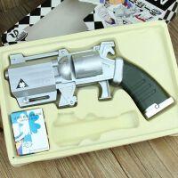 名侦探柯南怪盗基德手枪玩具模型 1:1扑克牌魔术牌手枪预告函