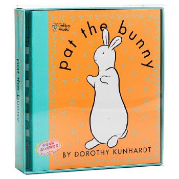 【中商原版】英文原版 Pat the Bunny 拍拍小兔子 经典儿童读物 触摸书