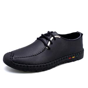宜驰EGCHI 休闲鞋男士包头耐磨缝线皮鞋男士户外登山鞋子男 2175