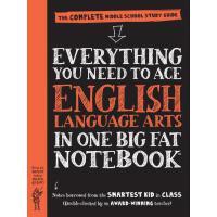 【现货】英文原版 美国少年学霸超级笔记 :英语 中学生参考书 English Language Arts Notebo