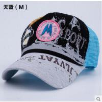 街舞帽网眼帽子 帽子女夏天韩版潮 女士棒球帽男士 鸭舌帽遮阳帽网帽