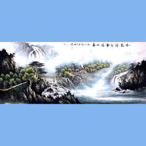 中国青年美术家协会常务理事,中国山水画院专业画家,国家一级美术师高云鹏(小桥流水幸福人家)